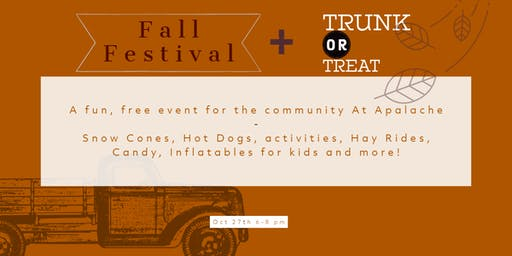 Fall Festival with Trunk or Treat