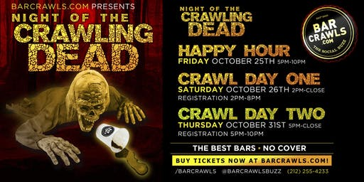 New York Halloween Bar Crawl 10/31