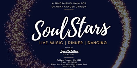 SoulStars Gala for Ovarian Cancer Canada tickets