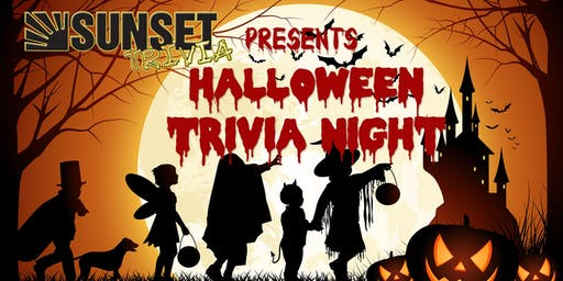 FREE Halloween Theme Trivia (Mission Beach) *Custom Food and Drinks*