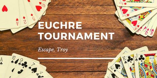 Euchre Tournament at Troy Escape
