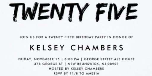KELSEY 25TH BIRTHDAY DINNER