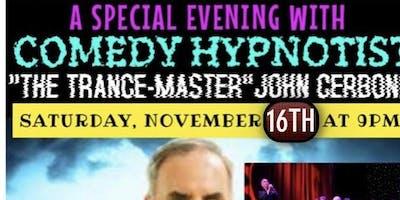 Comedy Hypnotist The Trancemaster John Cerbone