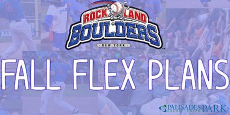 Rockland Boulders Fall Flex Plans tickets