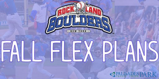Rockland Boulders Fall Flex Plans