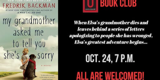 Book Club: My Grandmother Asked Me to Tell You She's Sorry