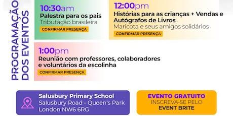 Visita da Contadora de historias ao Clube dos Brasileirinhos tickets