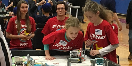 FIRST LEGO League Qualifying Tournament-Portsmouth Middle School