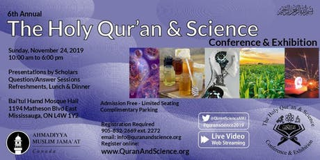 The Holy Quran and Science Conference tickets