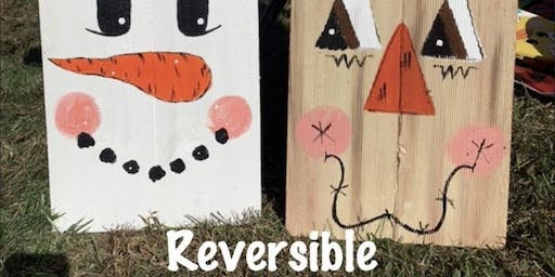 Paint to You Reversible wood boards at Maggies on the Waterfront