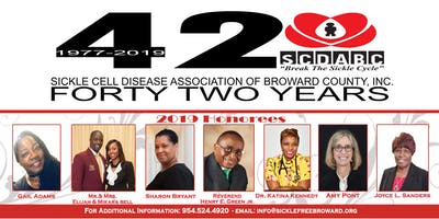 Sickle Cell Broward 42nd Annual Appreciation & Scholarship Banquet