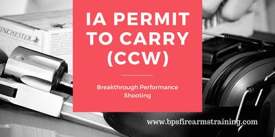 Permit to Carry  (CCW)