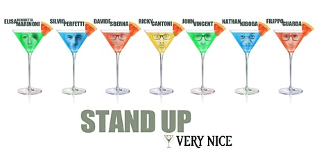 Stand Up Comedy Italia @VERY NICE (Bologna) biglietti