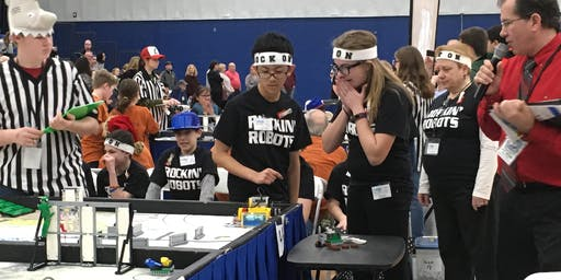 FIRST LEGO League State Championship-Roger Williams University