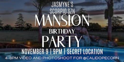 Scorpio SZN Mansion Party