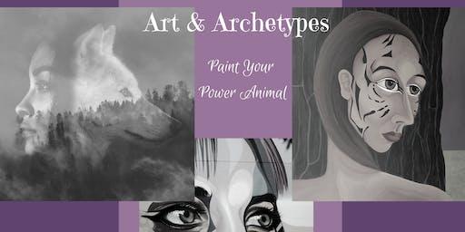 Paint Your Power Animal Archetype workshop