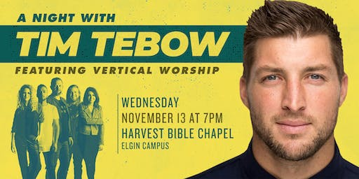A Night with Tim Tebow featuring Vertical Worship