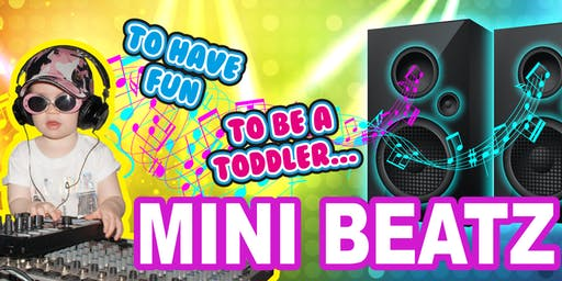 ** SOLD OUT ** Mini Beatz - 2019 Christmas Special Event (10:30am)