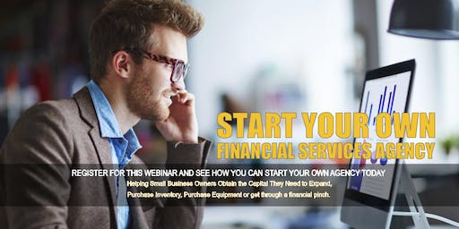 Start your Own Financial Services Agency in BRIDGEPORT, CT