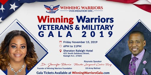 Winning Warriors Veterans-Military Family and Friends Gala