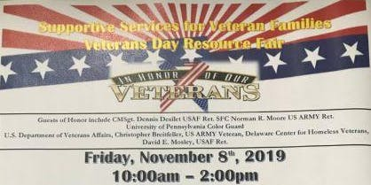 CAADC Inc. and SSVF Veterans Day Resource Fair