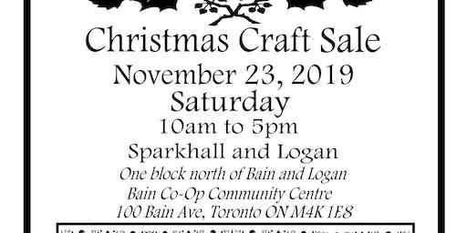 5th Annual Sparkhall Artisan Christmas Sale