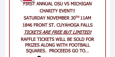 Event - OSU vs Michigan/Paws Fur Life & Paws and Prayers Fundraiser