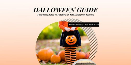 Halloween Guide for local Family Fun in Brentwood