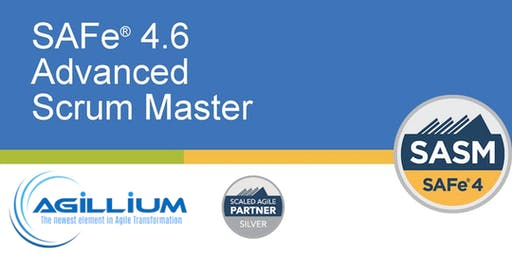 SAFe® Advanced Scrum Master w/SASM Certification @ Newark, NJ