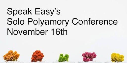 Speak Easy's Solo Polyamory Online Unconference November 2019