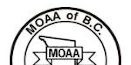Melissa Johanson - February Education Seminar for MOAA of BC tickets