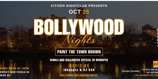 Citizen Night Club Presents Bollywood And Bhangra Night