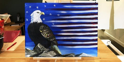 THINGS TO DO -PAINT & SIP: AMERICAN EAGLE