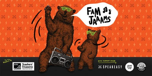 Fam Jaaams | A Family Dance Party to Benefit Teachers' Treasures