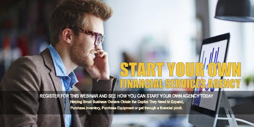 Start your Own Financial Services Agency in BALTIMORE, MD