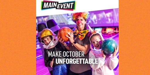 Halloween Bash at Main Event Orlando!!!