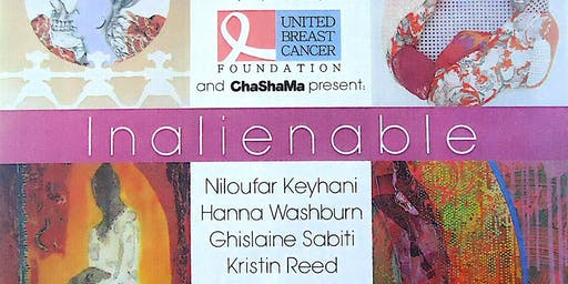 Chashama and United Breast Cancer foundation  Inalienable Opening Reception