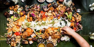 Kamayan Friendsgiving Feast