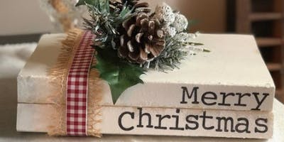 Make & Take Holiday Decor: Repurposed Books