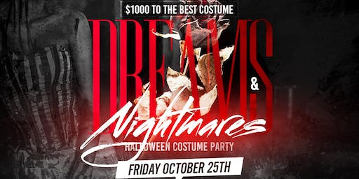"""Dreams & Nightmares $1000 Costume Party This Friday at Park Avenue"
