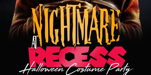 NIGHTMARE AT RECESS HALLOWEEN PARTY