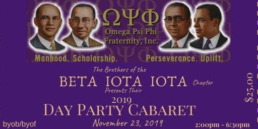 Beta Iota Iota Day Party Cabaret