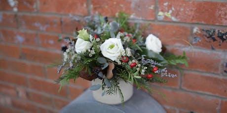 Holiday Floral Centerpiece Workshop tickets