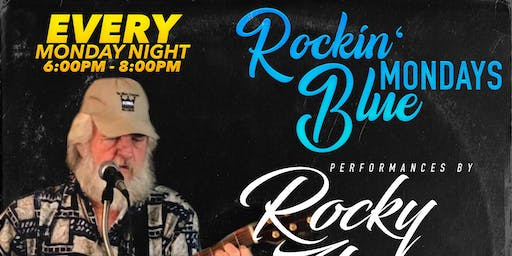Rockin' Blue Mondays featuring Rocky Zharp