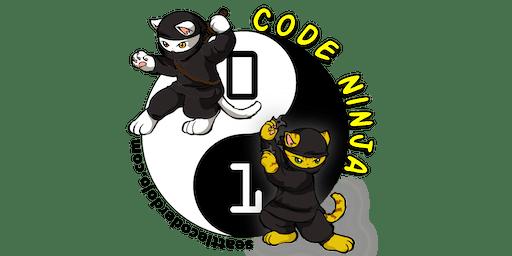 Seattle CoderDojo - Kids Learn Computer Programming (FREE) - November 2, 2019