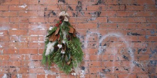 Floral Workshop : Holiday Door Swag