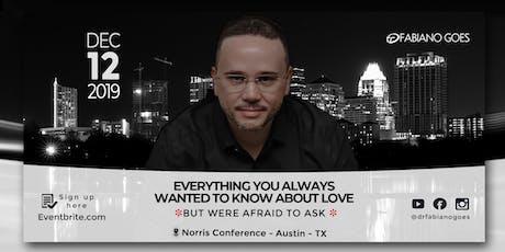Tudo o que você sempre quis saber sobre o amor(mas tinha medo de perguntar) tickets