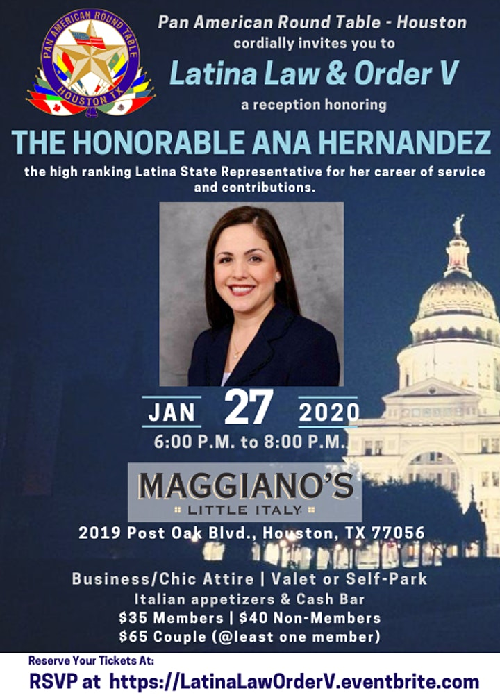 Latina Law & Order V: Honoring The Honorable Ana Hernandez image