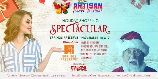 Holiday Shopping Christmas Spectacular Artisan Craft Festival