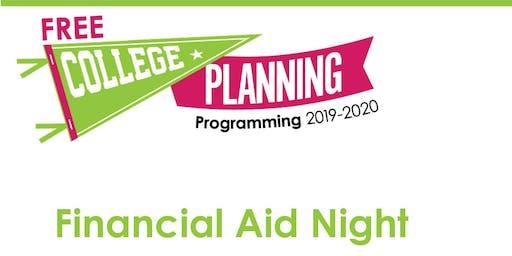 Homeschooler Financial Aid Night